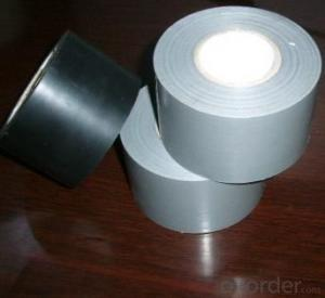 Black Colour Used For PVC Pipe Wrapping Tape
