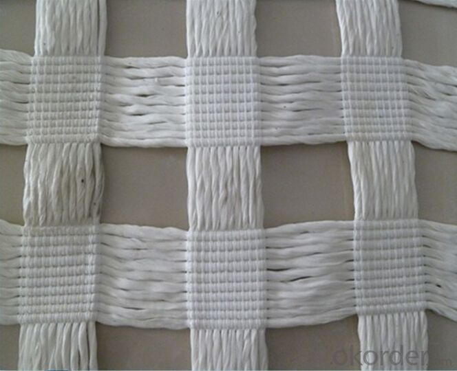PVC Coated Polyester Geogrid Warp knitting for Railway and Road