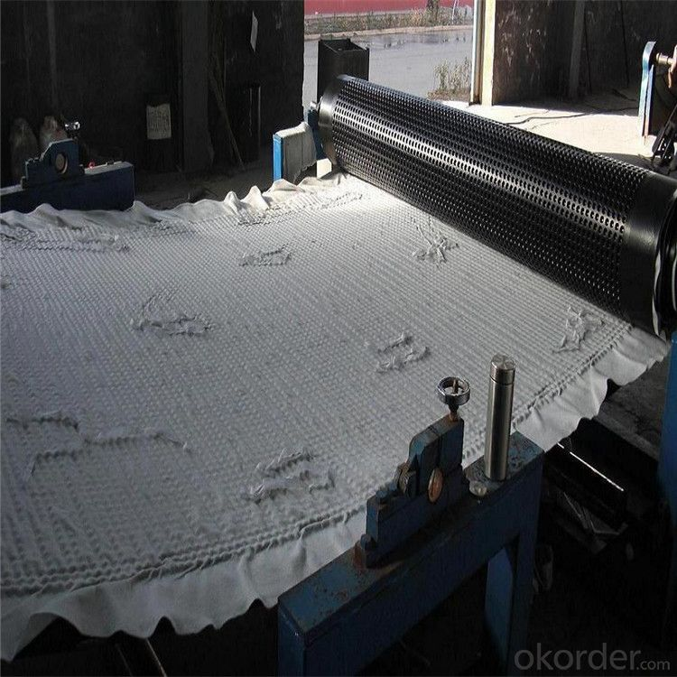 HDPE Uniaxial Geogrid with  High Tensile Strength Manufacturer