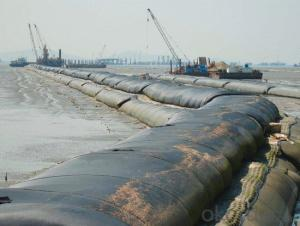 Geotube of Double Fabric for Water Control System