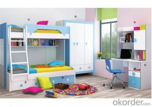 Princess Child Bunk Bed with Environmental Material