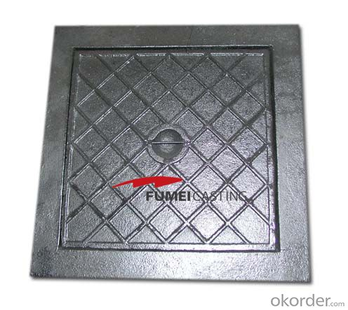 Manhole Cover High Quality Cast Iron 850MM