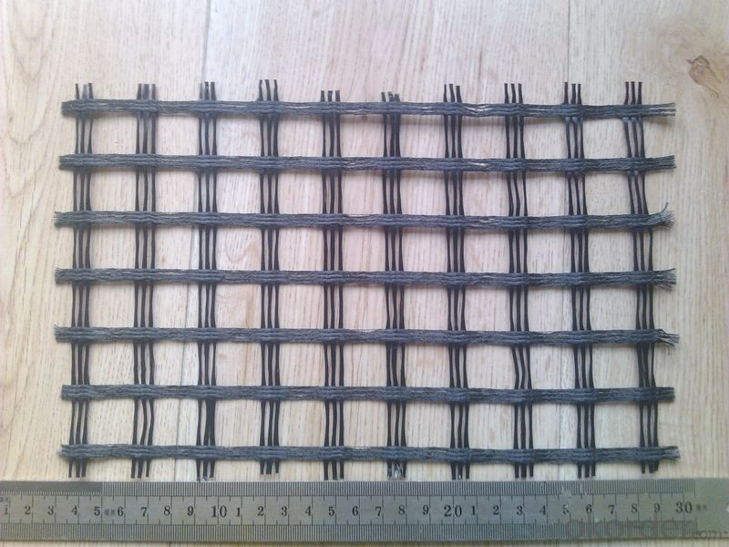 Butimen Coated Fiberglass Geogrid Used on Road Reinforce