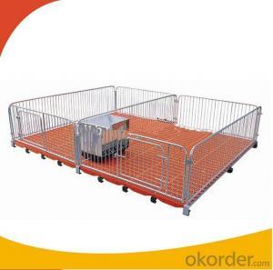 Customerized Galvanized Nursery Crate for Calves