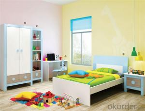 Prince Bedroom Furniture Set with Environmental Material