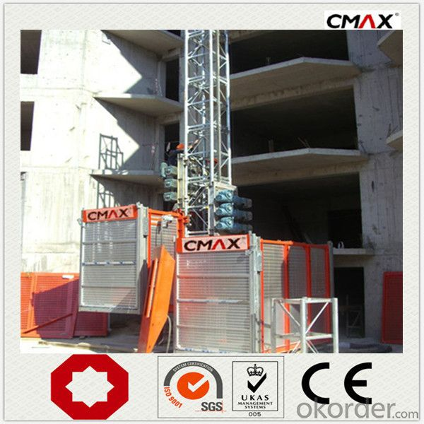 Building Lifter SC160/160 Construction Hoist