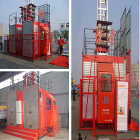 Construction Machinery Building Passenger Hoist Elevator with CE