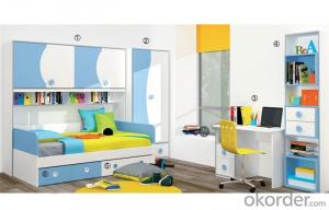 Prince Furniture Set with Green and White Color