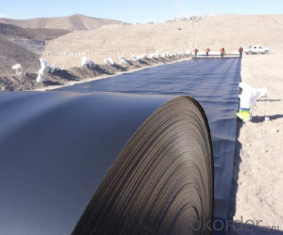 Geomembrane HDPE/LDPE Thickness for Architectural Engineering