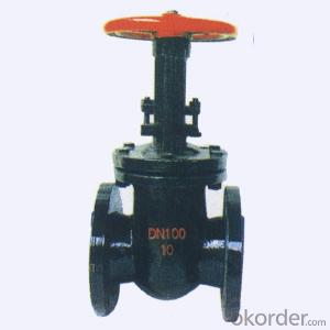 Gate Valve Ductile Cast Iron Water Stainless