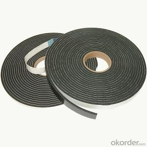 Color Black Double Sided Solvent Based Acrylic PE  Foam Tape