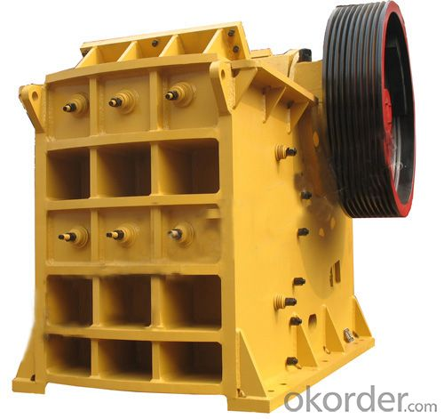 PE Jaw Crusher High Effiency and One Year Guarantee