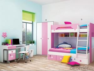 Prince Bedroom Bunk Bed with Lovely Color