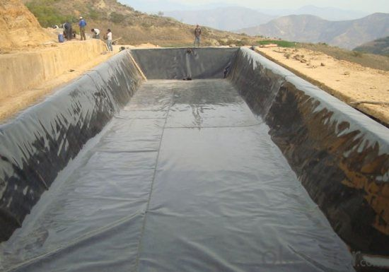 Geomembrane Thickness 2.5MM for Architectural Engineering
