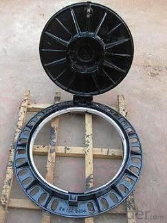 Manhole Covers High Quality Round Cast Iron  Manufacturer  Construction Used