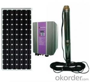 Solar Water Pump System With DC and AC Ones