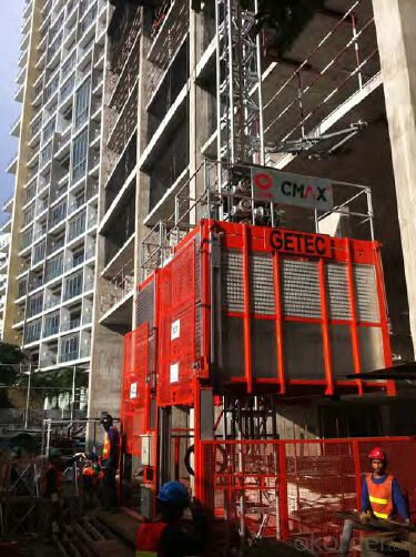 Construction Building Hoist, CE Approved