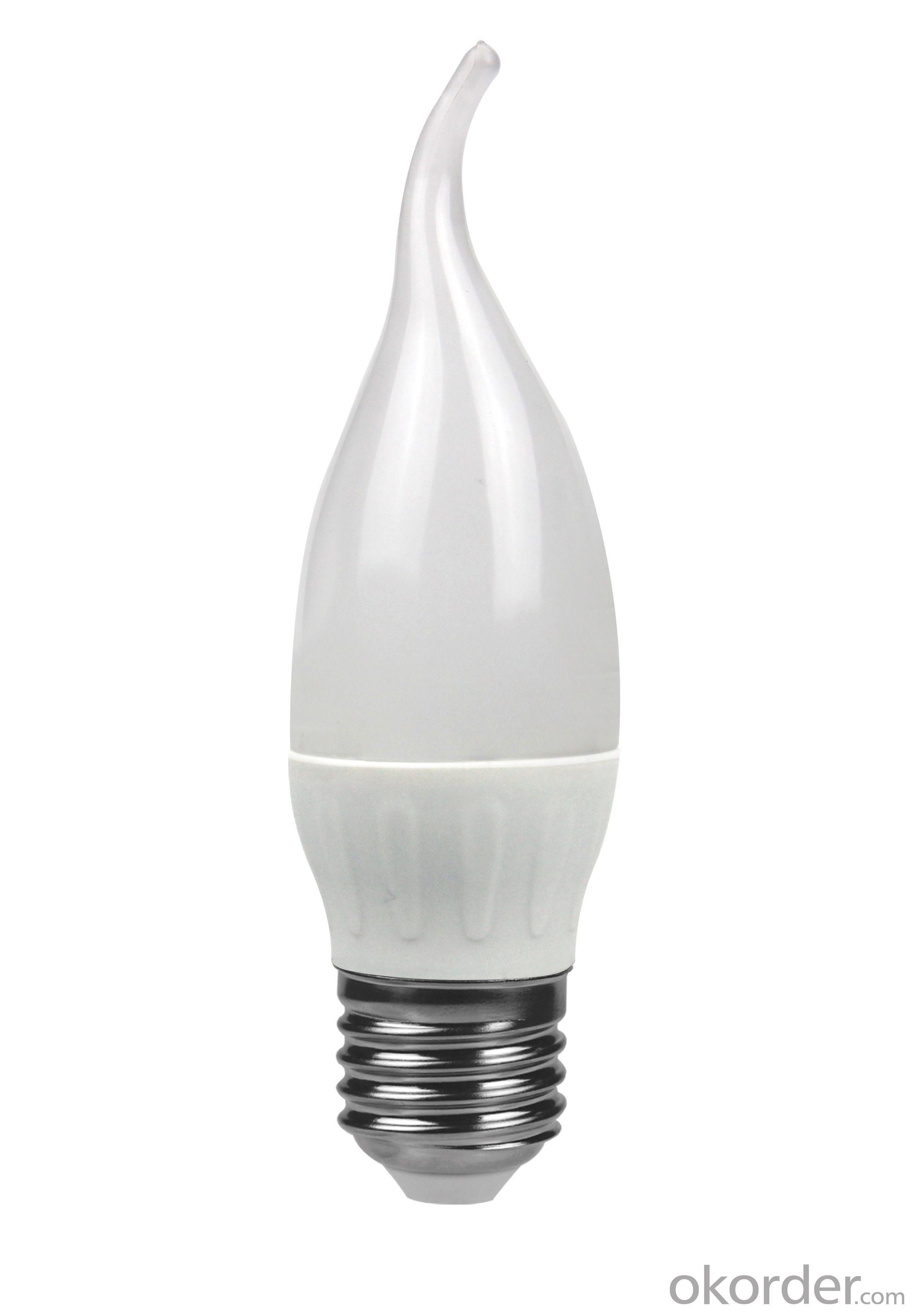 LED Bulb Light E27 3000k-4000K-5000K-6500k C37 9W 800 Lumen Non Dimmable