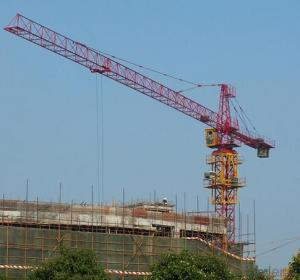 Tower Crane of TC4208 With Jib 42M and 0.8Ton Tip Load  Hammer Head