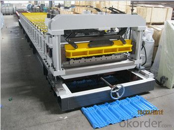 Metrocopo Tile Forming Machine For Aluminum Coils with ISO Quality System