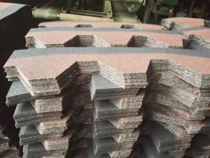 Mosaic Type Asphalt Roof Sheet Cheap Price 20 Years Gurantee