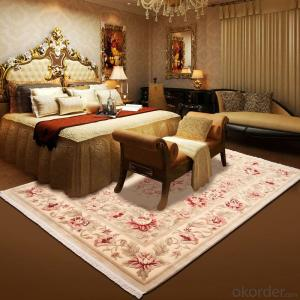 Machinemade Wool Carpet with Modern Design for Luxury Home and Hotel