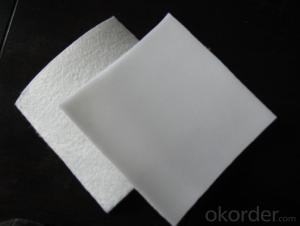 High Strength PP/ PET Short Fiber Needle Punched Non Woven Geotextile