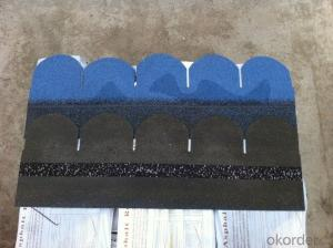 Fish scale Bitumen Shingle  Roofing tile ASTM