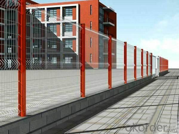 Powder Coated Material Welded Mesh Panel