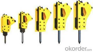 Machinery Excavator Mounted Breaker Chisel Manufacturer