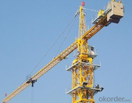 Tower Crane of TC6518 With Jib 65M and 1.8Ton Tip Load  Hammer Head