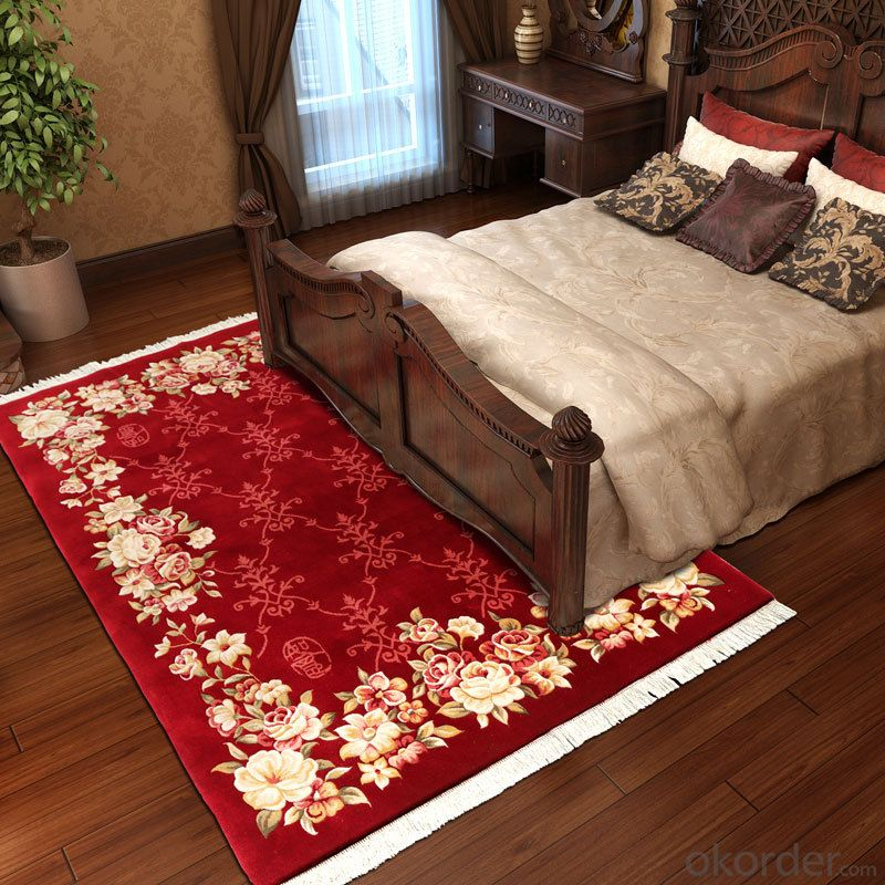 Machinemade Wool Rug  with Persian Design for Luxury Home and Hotel