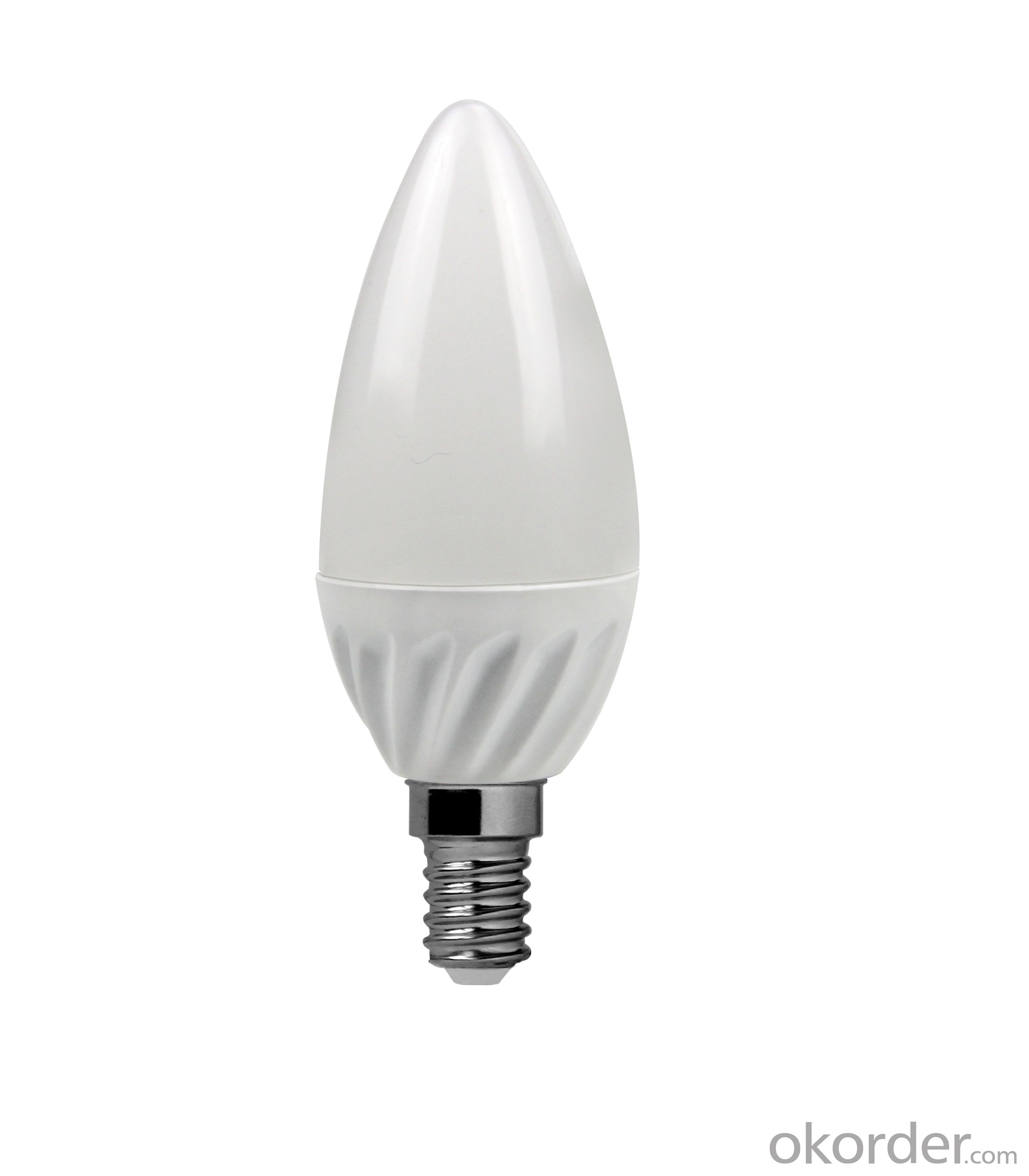 LED Bulb Light E14 C37 5000K 9W 800 Lumen Non Dimmable