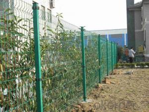 China PVC Coated Metal Wire  Mesh  Fence