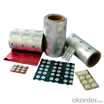 Aluminium Blister Foil for Medical and Food Packaging