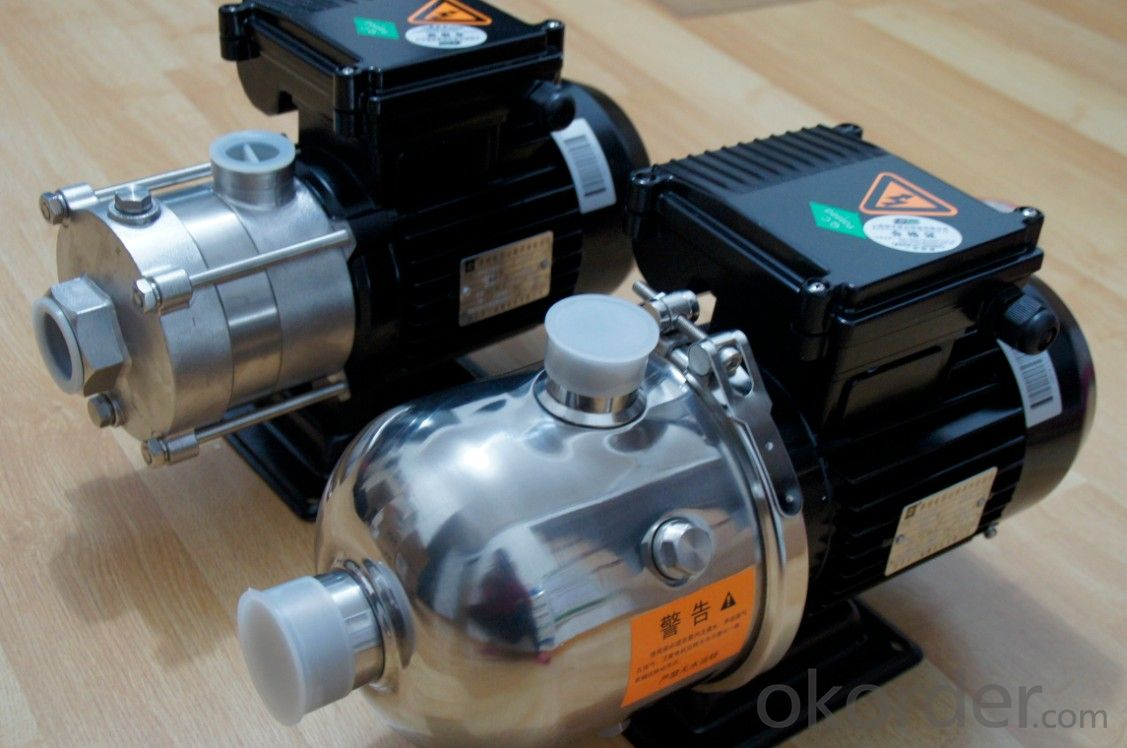 Horizontal Multistage Designed Stainless Steel Centrifugal Pumps