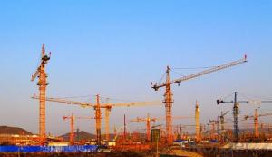 Tower Crane of TC5510 with Max Load 6 Ton and Span of  55M