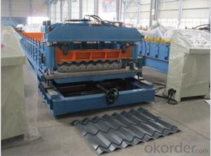 Step Tile Cold Roll forming machine with ISO Quality Sytem