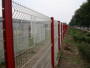 Assemble Use Post &Panel  Wire  Mesh   Fence