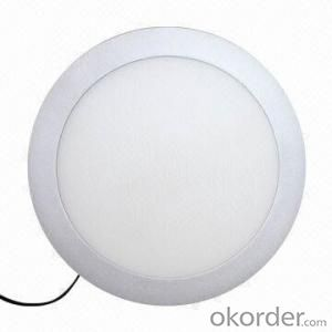 Led Panel Light Small Size 24W PF0.5 Recessed  Mount  Round Shape