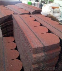 Buy Fish Scale Bitumen Shingle Roofing Tile Astm Price