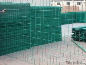 RAL 6005 Green Colour Wire  Mesh Fencing