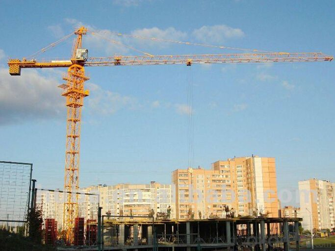 Tower Crane of TC5810 with Max Load 6 Ton and Span of  55M