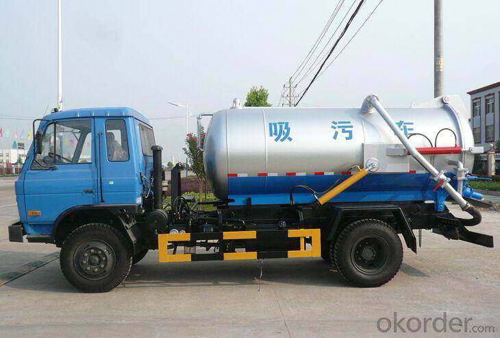 Sweeper Truck 5m3 ISUZU 4x2 (QDZ5070TSLI)