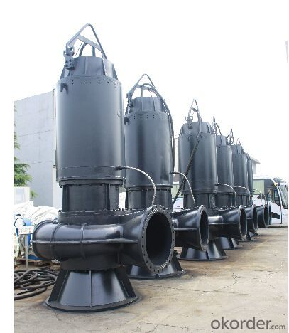 WQ Series Vertical Sewage Submersible Pumps