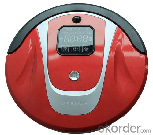 Robot Vacuum Cleaner with Self Charging/Remote Control/Pre-Schedule Intelligent Cleaner