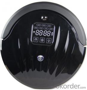Robotic Vacuum Cleaner with Self Charging/Remote Control/Pre-Schedule Intelligent Fuction
