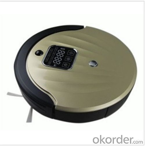 Robot Vacuum Cleaner with Self Charging/Remote Control/Pre-Schedule Intelligent Fuction