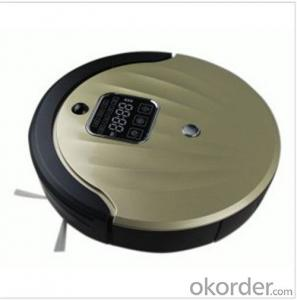 Robot Vacuum Cleaner/Side Brush/Self Charging/Remote Control/Pre-Schedule Intelligent Fuction