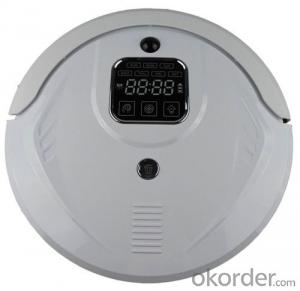 Intelligent Robot Vacuum Cleaner with Self Charging/Remote Control/Pre-Schedule